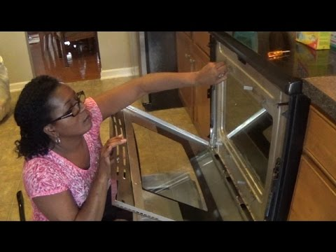 Removing & Cleaning Your Oven Glass Door
