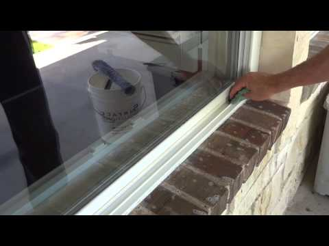 How to clean a window track