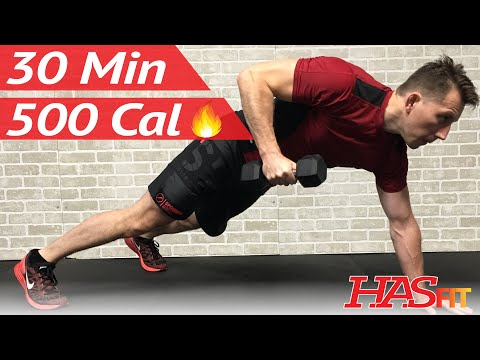 30 Minute HIIT Workout - Spartan Warrior Fat Burning High Intensity Interval Training Workouts
