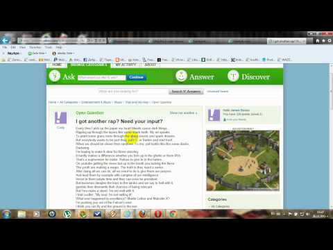 How to yahoo answer for microworkers