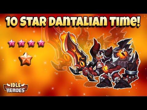 Idle Heroes (O+) - 10 Star Dantalian! - New Aspen Record