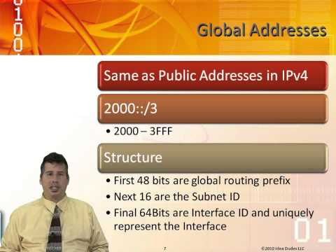 Learn IPv6 Addressing in Windows Server 2008-Config a Network Infra Pt 1 from GogoTraining