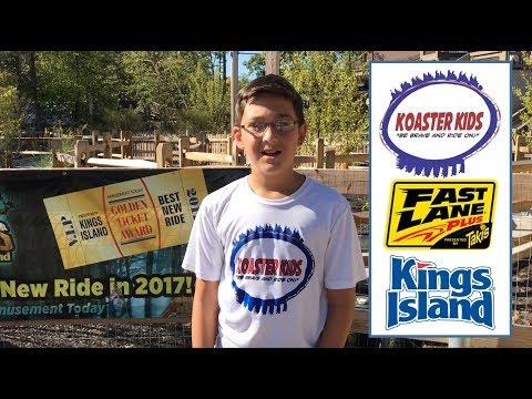 Using Fast Lane Passes at Kings Island 2017