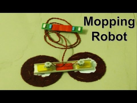 How to build a floor cleaning robot