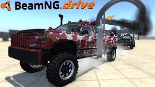 BeamNG drive - NEW INDESTRUCTIBLE CAR - The Most Popular