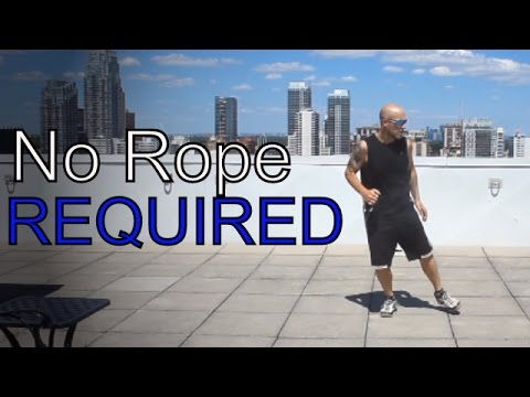 The 'No Rope' Skip Rope Workout
