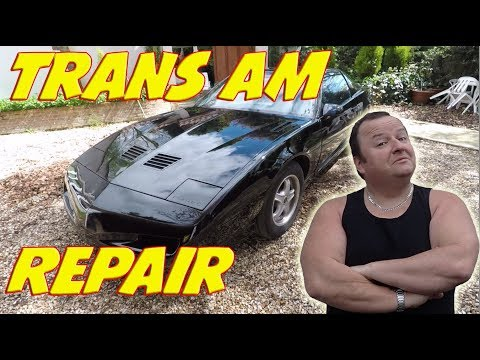 Trans Am Window | Brick Top And A Useless Apprentice Vlog