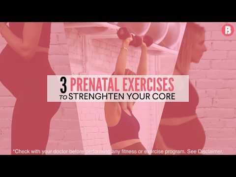 3 Prenatal Exercises to Strengthen Your Core