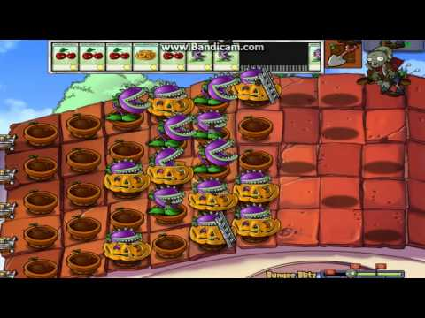 Plants Vs. Zombies: Limbo Page (Hidden Mini-Games): Bungee Blitz