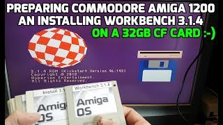 Trying out the Amiga 1200 with Workbench 3 0 - PakVim net HD Vdieos