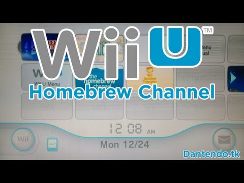 How To Install Homebrew Channel on Wii U