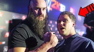 MI HANNO PICCHIATO ANCHE A NEW YORK? - Ho incontrato KURT ANGLE e SETH ROLLINS - WWE Summerslam