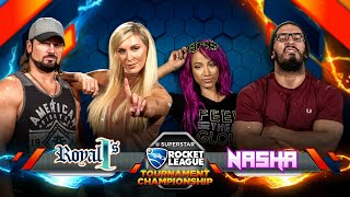 ROCKET LEAGUE FINALS: NASHA (Sasha/Neville) vs. ROYAL 1's (Charlotte/AJ) — Rocket League Tournament