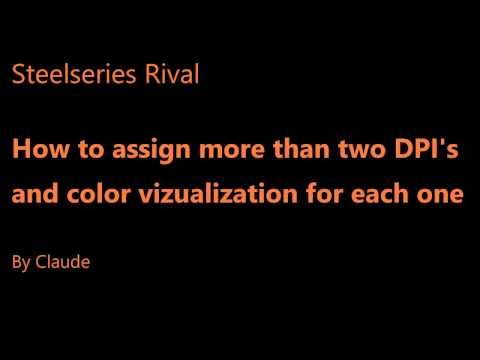 How to add more than 2 dpi settings on Rival series mice with visual confirmation