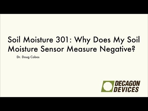 Soil Moisture 301: Why Does My Soil Moisture Sensor Measure Negative?