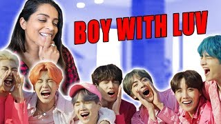 Download Reacting to BOY WITH LUV by BTS Video