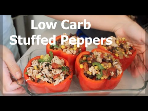 Cook with Kal: Healthy Organic Stuffed Peppers