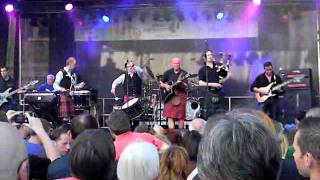 Stadtfest Heiligenhaus - Claymore - DnB Drums and Bagpipe