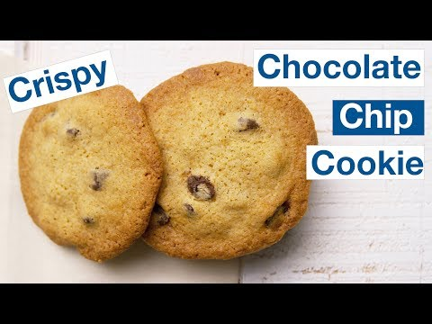 Buttery Crispy Chocolate Chip Cookie Recipe || Le Gourmet TV Recipes