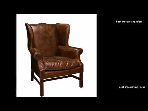 Leather Wingback Chair - Antique Leather Wingback Chairs For Sale| Stylish Modern Interior