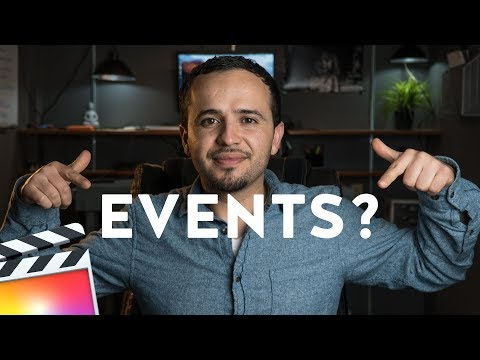 How to Use Events in Final Cut Pro X