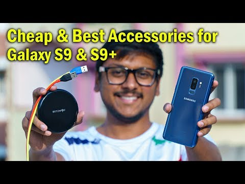 Cheap & Best Accessories for Samsung Galaxy S9 & S9 Plus!