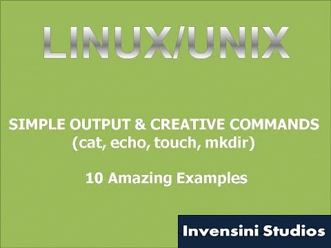 Linux Basic Output and Creative Commands
