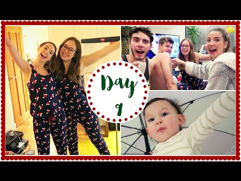 CHRISTMAS SLEEPOVER WITH TANYA & JIM | VLOGMAS