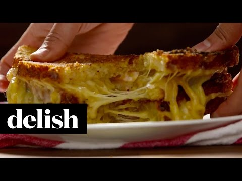 Award-Winning French Onion Soup Grilled Cheese | Delish