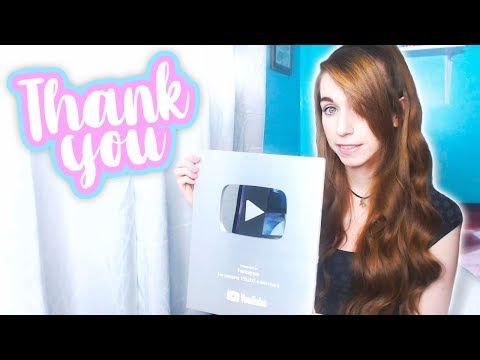 MY 100K PLAQUE IS HERE! THANK YOU GUYS SO MUCH💖✨