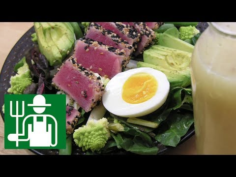 Salad niçoise    An Old Recipe Made KETO   Keto Salad Dressing  