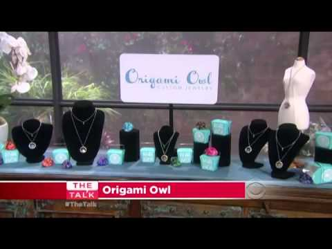 Origami Owl Featured in The Talk (CBS)
