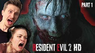 Scared Buddies Try Resident Evil 2 - Part 1