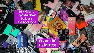 My Giant, Insane, Out of Control Palette Collection (and declutter) Part Two: Eyeshadow Palettes