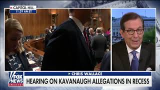 Download Chris Wallace on Christine Blasey Ford Testimony: 'This Is a Disaster for Republicans' Video
