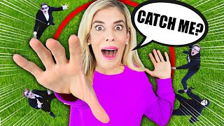 Extreme Trust Challenge Off Balcony In Real Life! (Rebecca Vs. Game Master Agents)