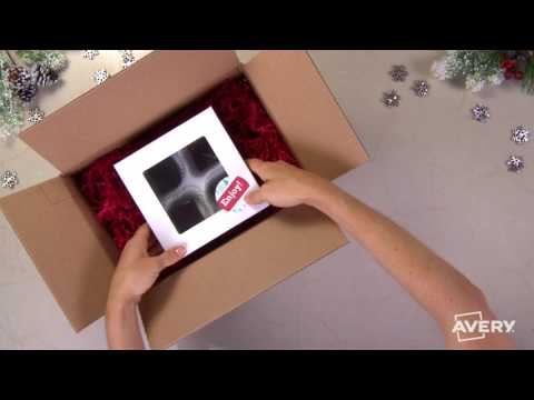 How to Make a Fudge Gift to Ship with Avery®