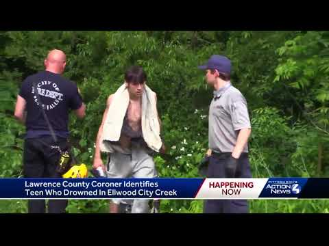 Teenage boy found dead after swimming in Connoquenessing Creek on Memorial Day