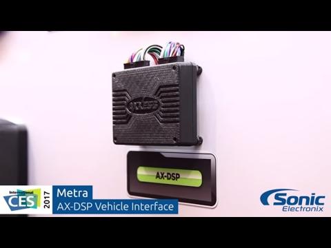 Metra Axxess AX-DSP Vehicle Interface & Digital Sound Processor   CES 2017
