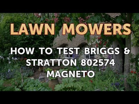 How to Test Briggs & Stratton 802574 Magneto