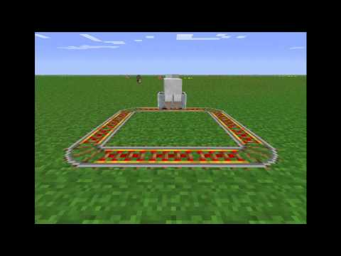Sheep in a Minecart
