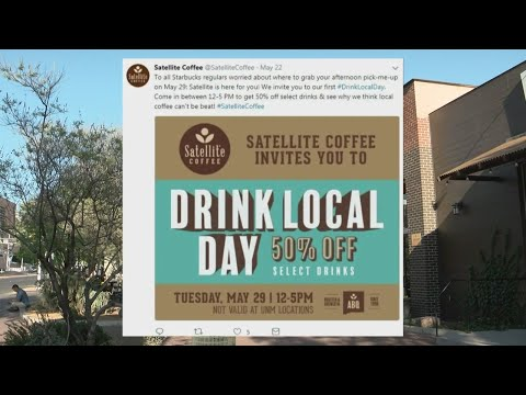 Satellite capitalizes, offers 50% off drinks during Starbucks temporary close