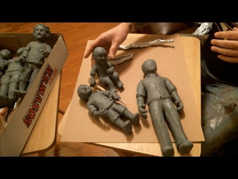 14. How to: sculpt with modeling clay. 1 of 2
