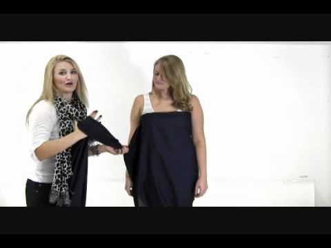 How to Make a Toga- Women's Halter Top Toga