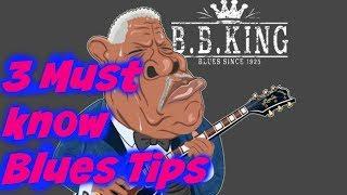 3 Must know (Essential Blues) B.B. Box Pentatonic Devices