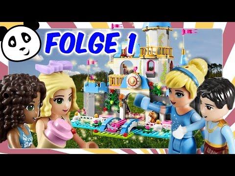 ⭕ Lego Friends und Prinzessin Cinderella deutsch - Part 1 Ein Sommertraum Kinderserie