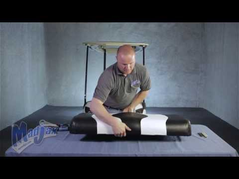 Two Tone Seat Covers On a Yamaha® Drive | How to Install Video | Madjax® Golf Cart Accessories