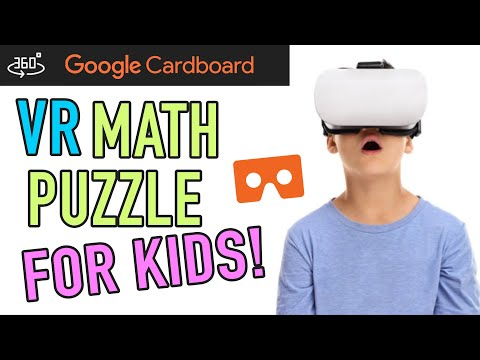 Math Puzzles for Kids: Learn Math in VR