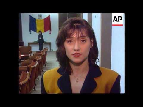 Romania - Nadia Comaneci Returns Home
