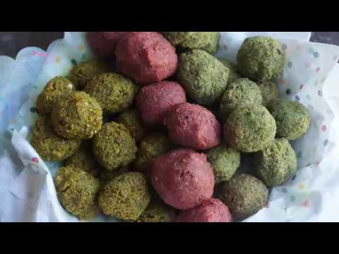 How to Make Rainbow Falafel